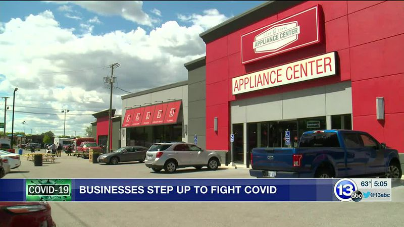 The Appliance Center hosts COVID vaccine event