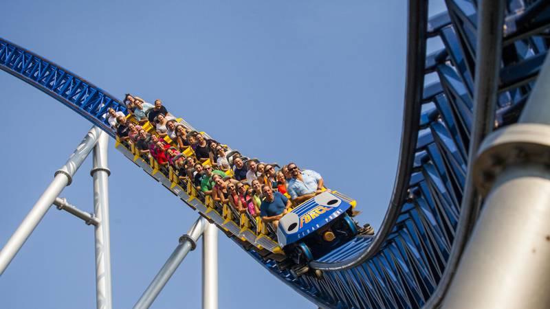 Cedar Point's Millennium Force roller caoster