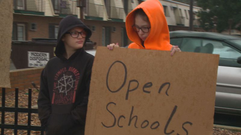 Students and parents rallied Monday to express their thoughts that Bowling Green schools should...