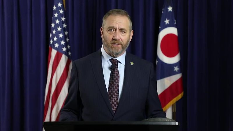 Ohio's Attorney General spoke in a video press release on a number of voting concerns.
