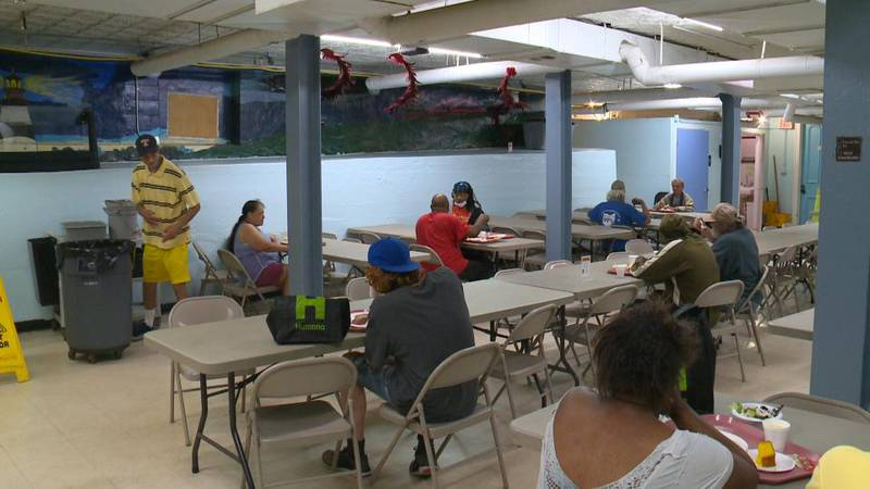 The non-profit just reopened the dining room for community meals.