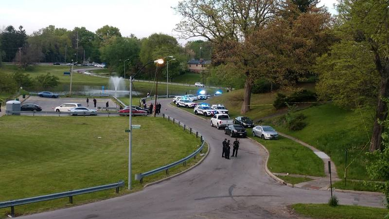 Toledo Police investigate after a person is shot at Sleepy Hollow Park.