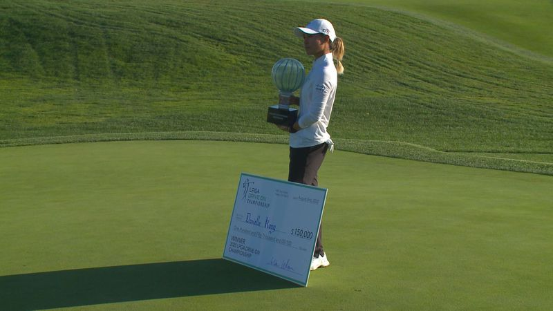 Danielle Kang (-7) won the LPGA Drive on Championship at Inverness Club by one shot over Celine...