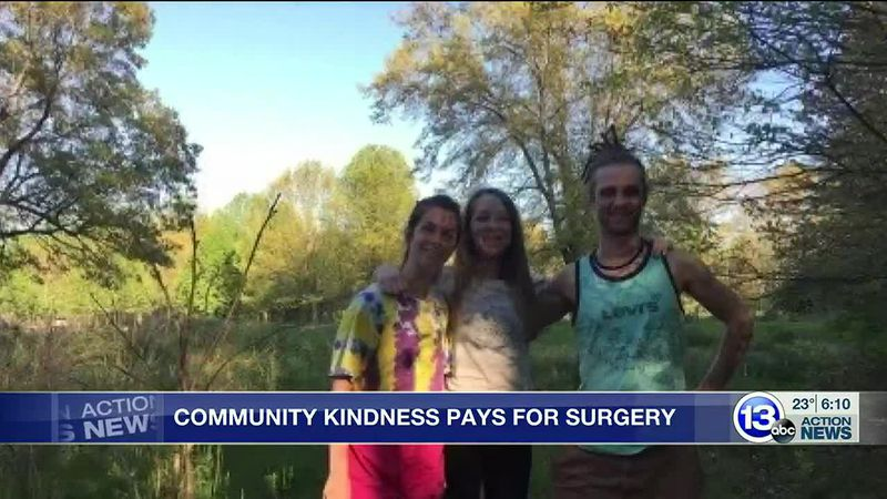 Community kindness pays for surgery