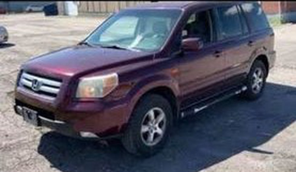 Paulding County authorities are searching for this stolen 2007 Honda Pilot. They believe a...