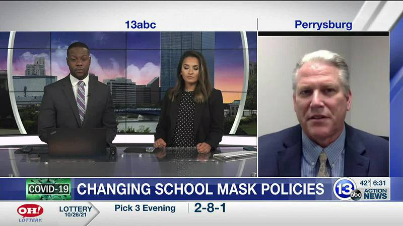 Perrysburg superintendent Tom Hosler talks about new mask policies