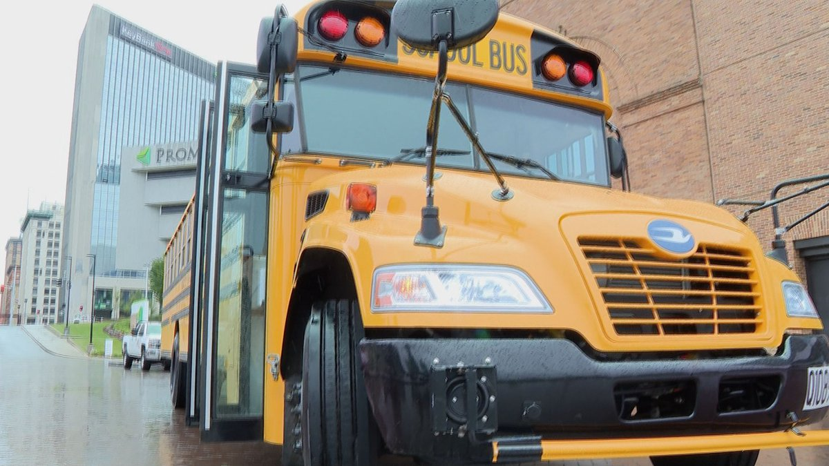 Oregon School Buses will shuttle people to The Solheim Cup Fan Fest from Great Eastern Shopping...
