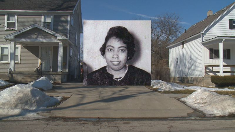 The home where Hattie Wraggs was murdered in 1983 has since been torn down.