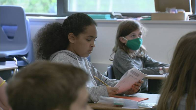 The Anchorage School District says masks are likely to be optional this fall for students and...