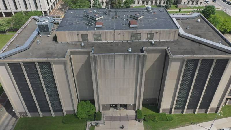 The Lucas County Corrections Center opened in 1977.