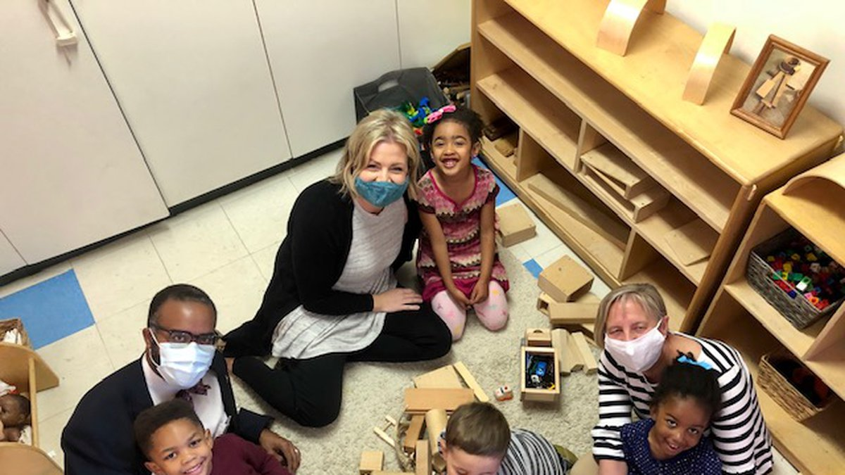 The new program will help provide tuition assistance for early childhood learning