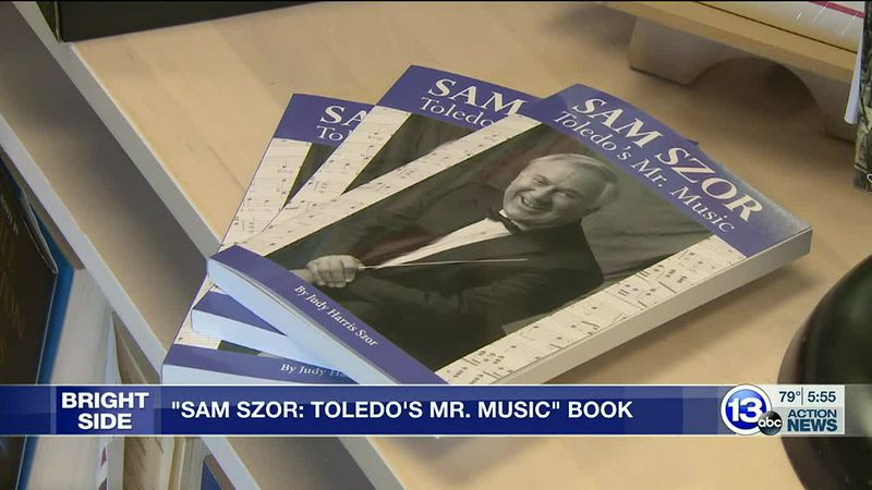 The wife of Sam Szor wrote a book about his impact on Toledo