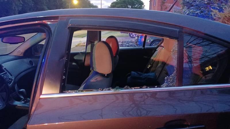 Random attack on the streets of Toledo