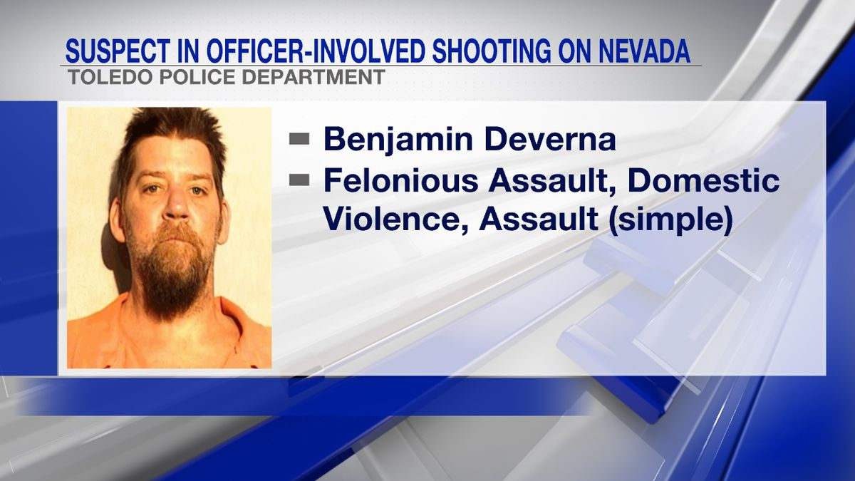 Suspect in officer-involved shooting is now in jail on several charges.