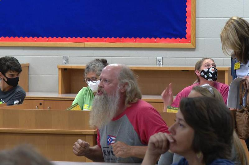 Parents did not mince words at a Oregon City Schools Board meeting on Tuesday evening.