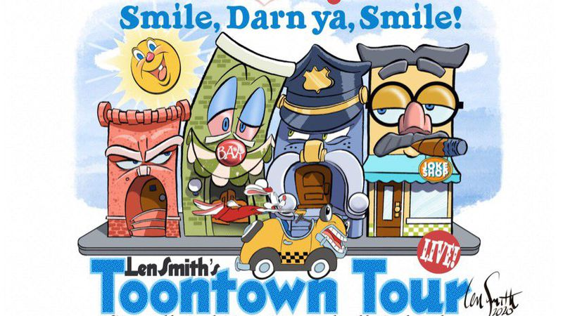 Len Smith's Toontown Tour is headed to The Maumee Indoor Theatre