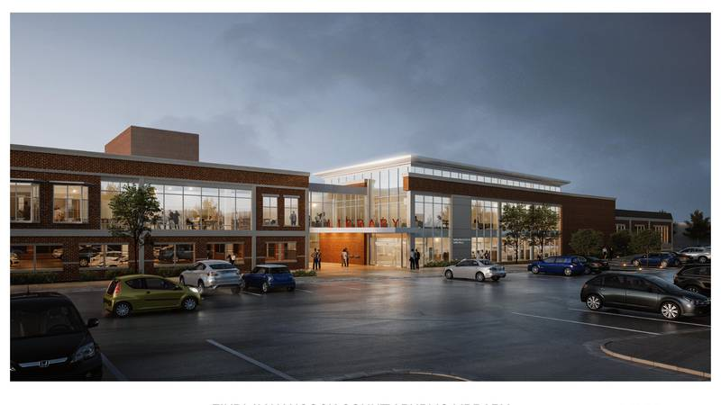 Library leaders say the construction project would double their current space and provide more...