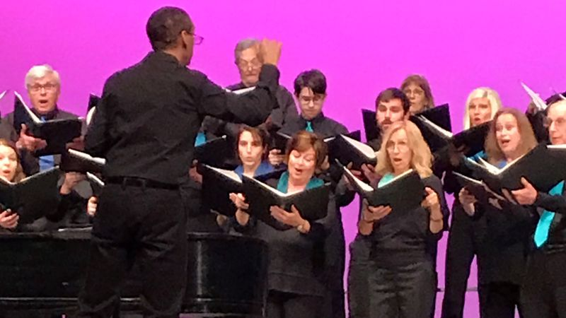 Masterworks Chorale performs in June 2019.