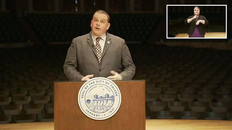 Mayor Kapszukiewicz highlighted the city's economic health, pandemic response, and road repair...