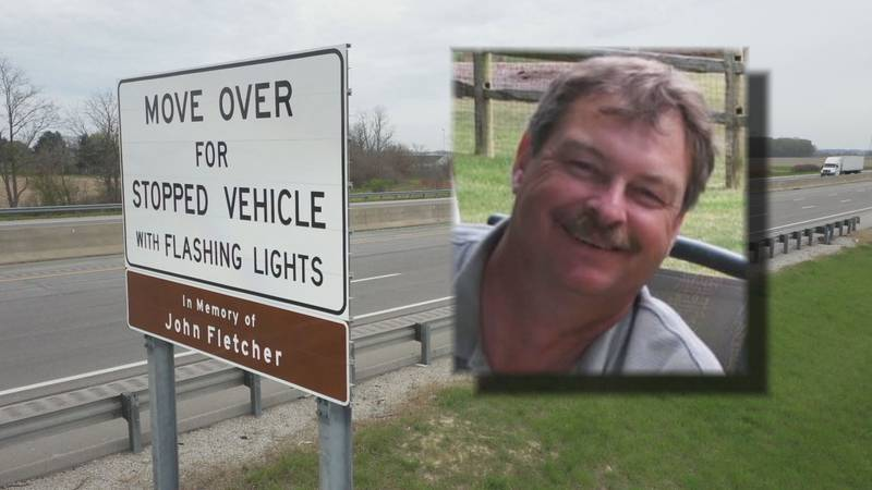John Fletcher was working along the Ohio Turnpike when he was hit and killed Jan. 24, 2012.