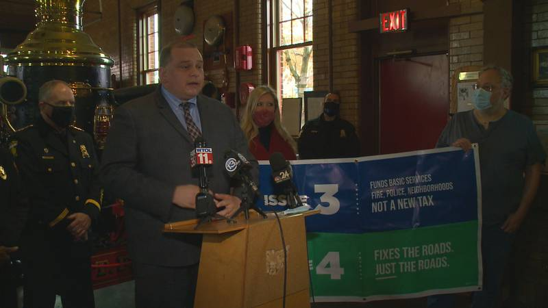 City of Toledo officials make their pitch to voters once more, requesting they vote Yes on...