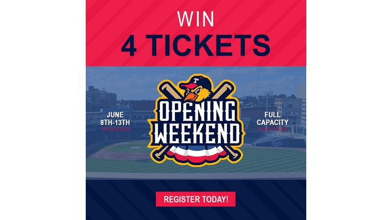 13abc is giving away ticket packages to Toledo Mud Hens games.