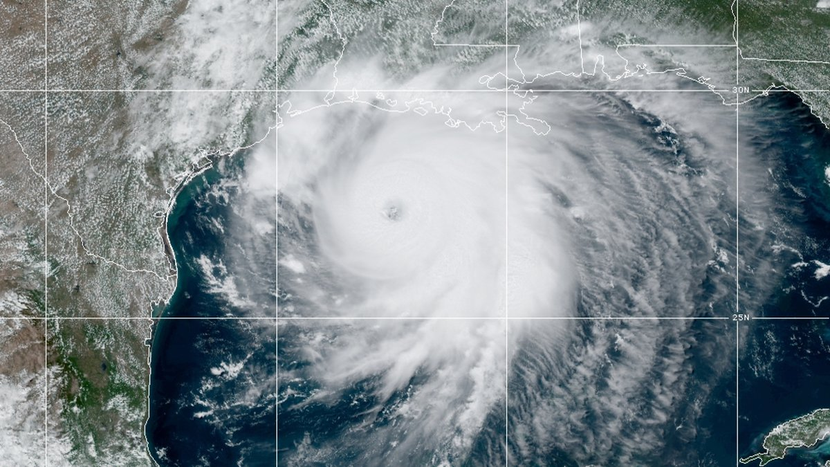 Hurricane Laura, fed by the warm waters of the Gulf of Mexico, has strengthened to a Category 4...