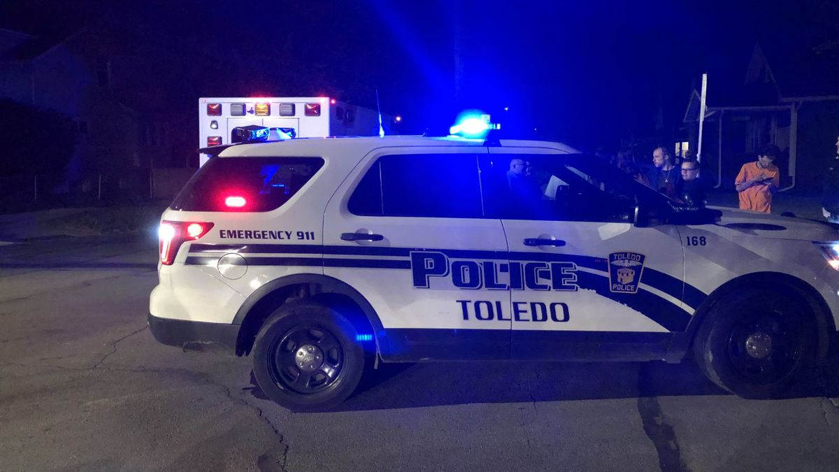 A man has barricaded himself inside an East Toledo home Friday night, April 30.