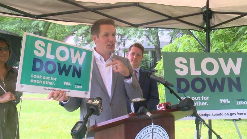 Councilman Melden announces the city's participation in the network.