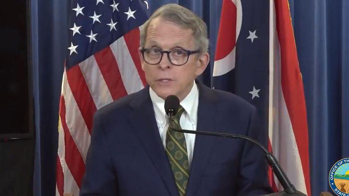 Ohio Gov. Mike DeWine will address the state Wednesday evening.