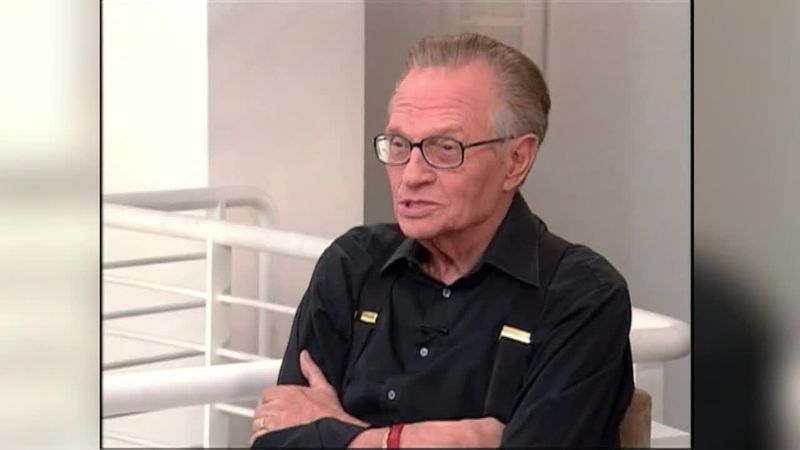 Award-winning talk show host Larry King has died at the age of 87. (Source: CNN)