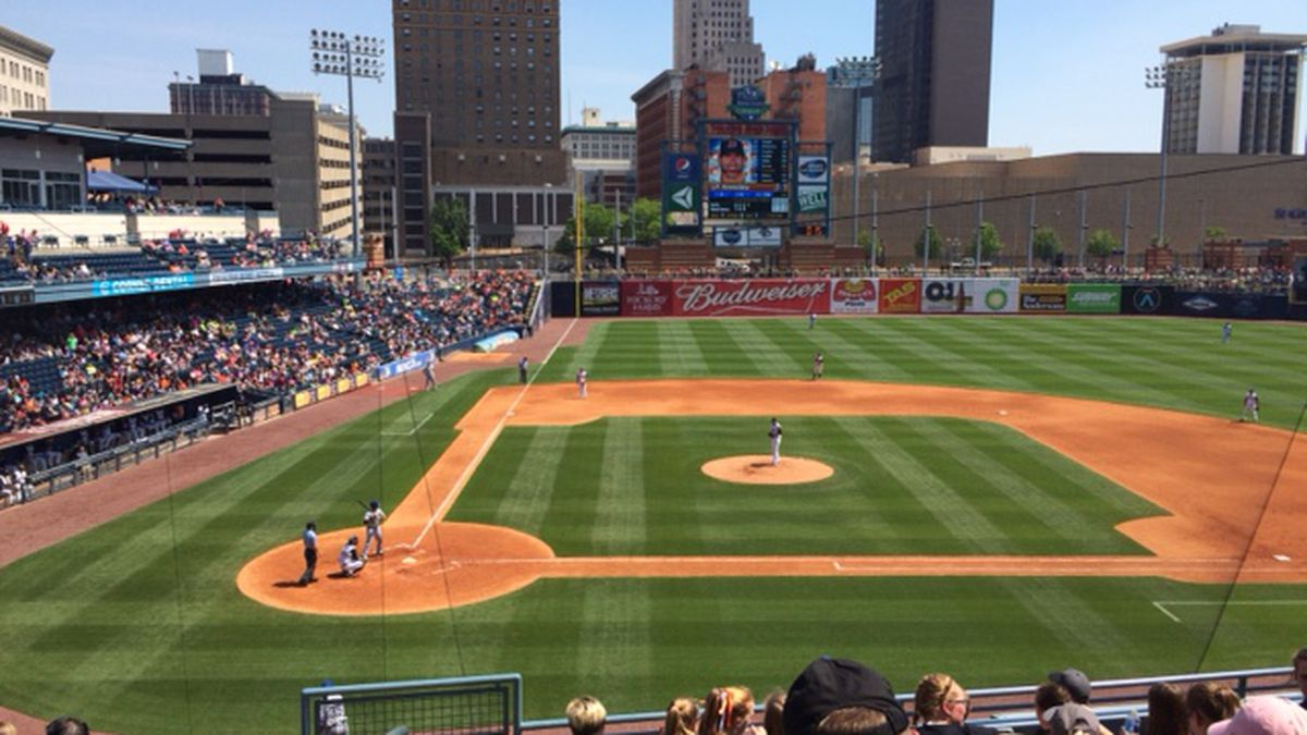 Fifth Third Field in downtown Toledo.