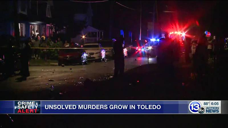 As homicides are on the rise in Toledo, more cases go unsolved.