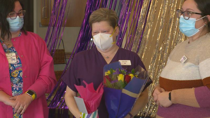 Northwest Ohio woman named Healthcare Worker of the Year by healthcare networking group...