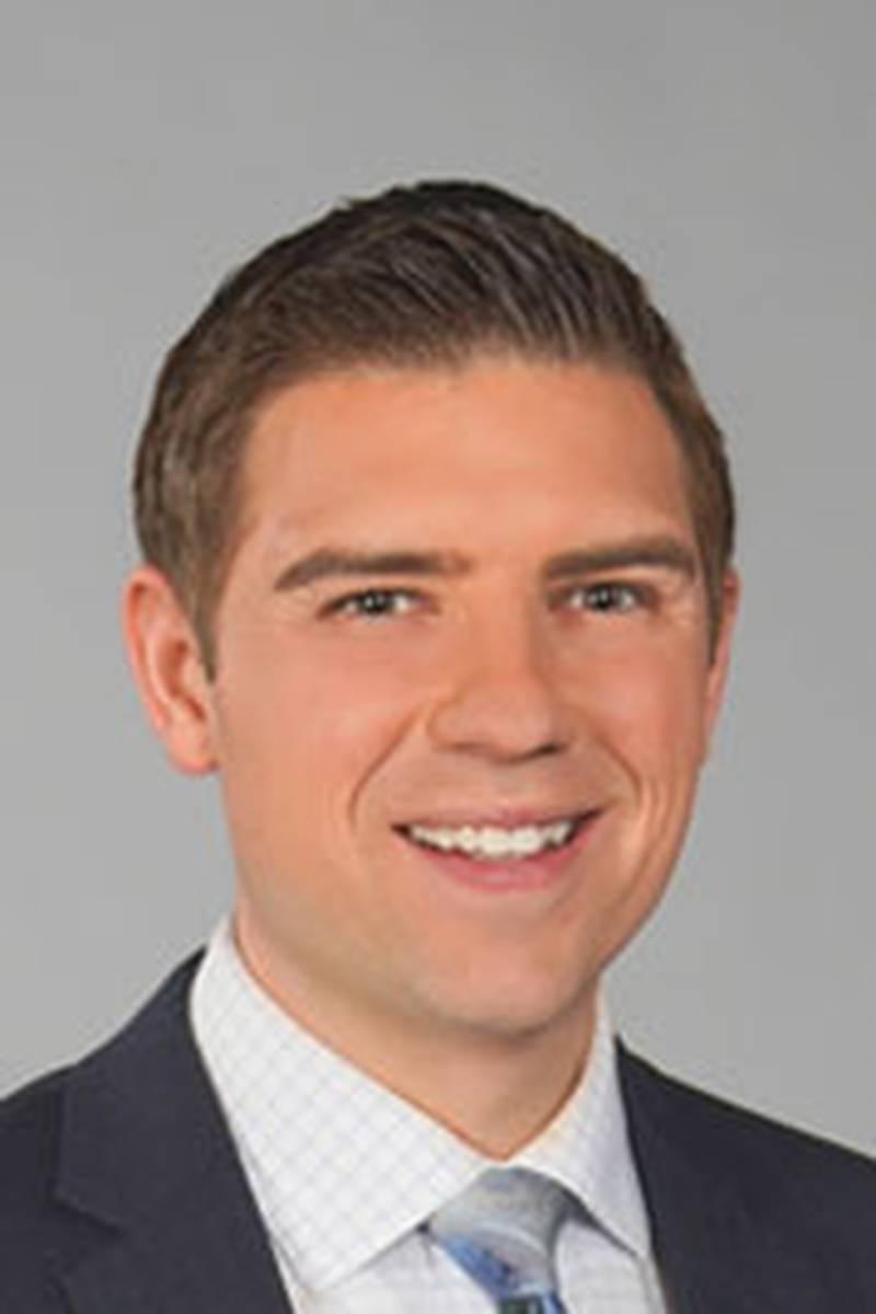 Headshot of Ross Ellet, Morning Meteorologist