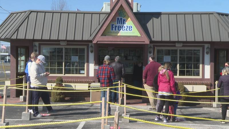 Mr. Freeze in Perrysburg opens for the season