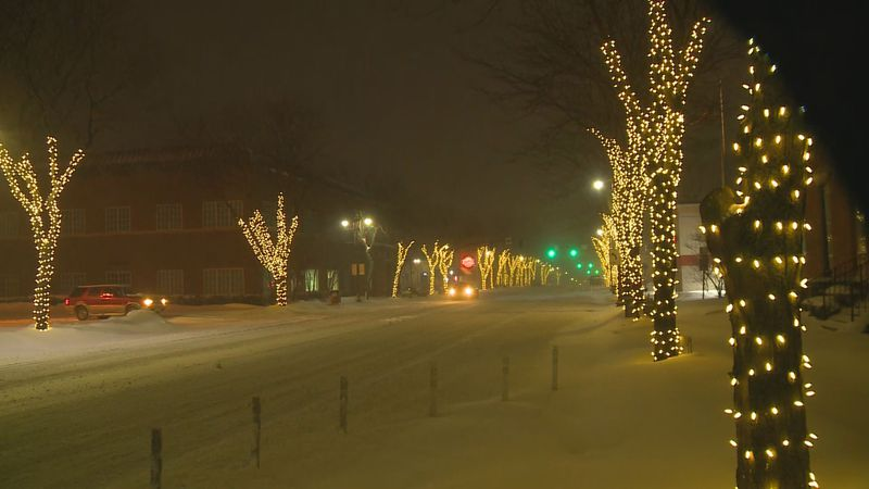 The streets of Maumee lit up this week despite a historic snowstorm. Texans, however, have...