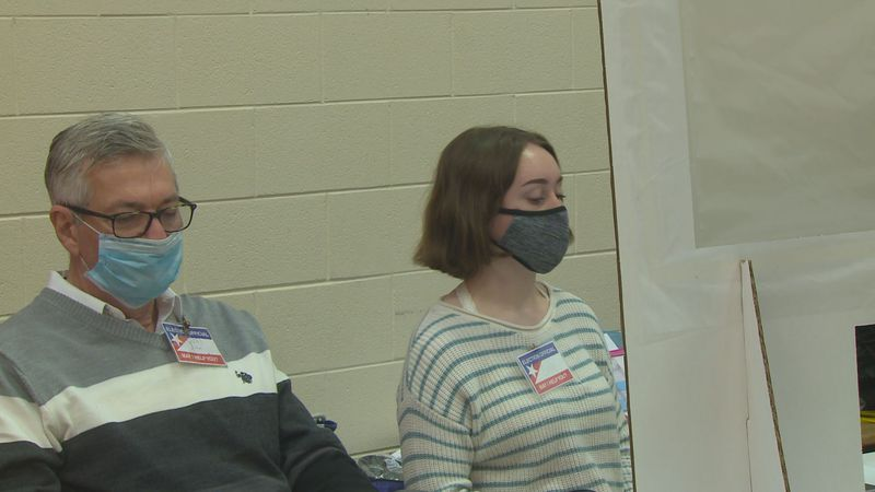 Youth poll workers step up during pandemic