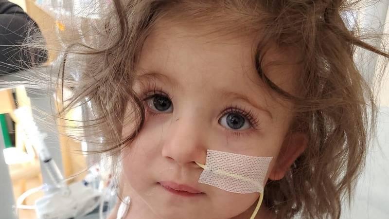 Emmalyn Rowan is battling Congenital Heart Disease, medical staff explain a new heart is the...
