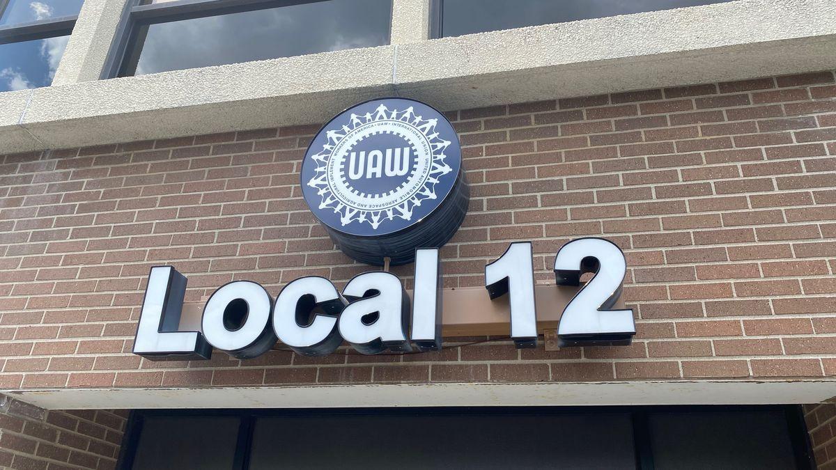 United Auto Workers Local 12 union hall in Toledo, Ohio.