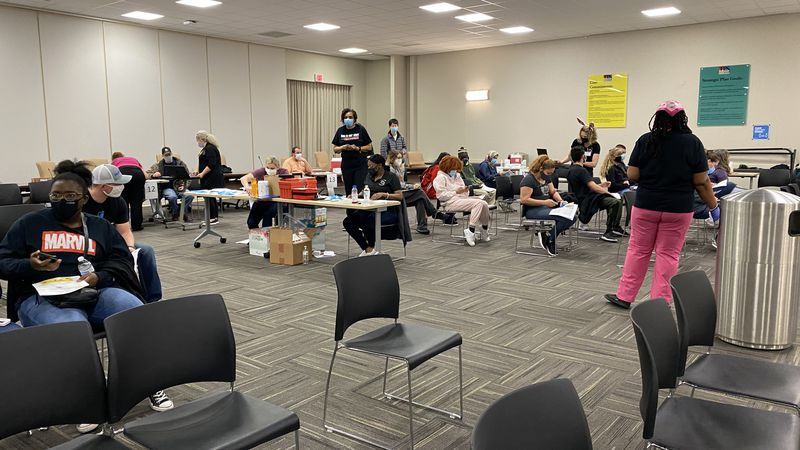 TPS in partnership with Health Partners of Western Ohio distributed 300 COVID-19 vaccines...