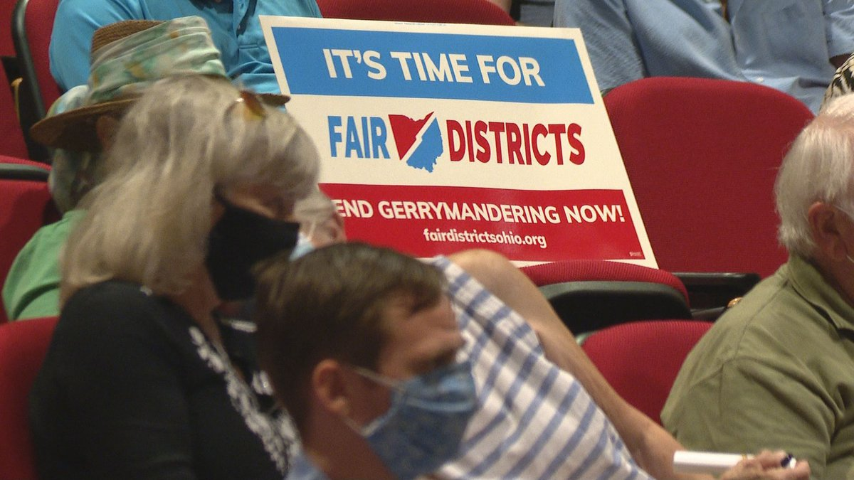 The Ohio Redistricting Commission ended its fourth day of a five-day tour around the state to...