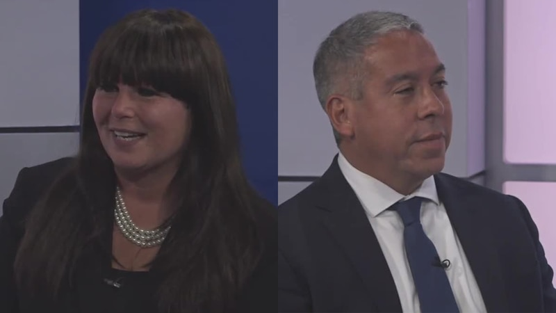 Lori Olender and Alfonso Gonzalez joined Lee Conklin to discuss their campaigns for Lucas...