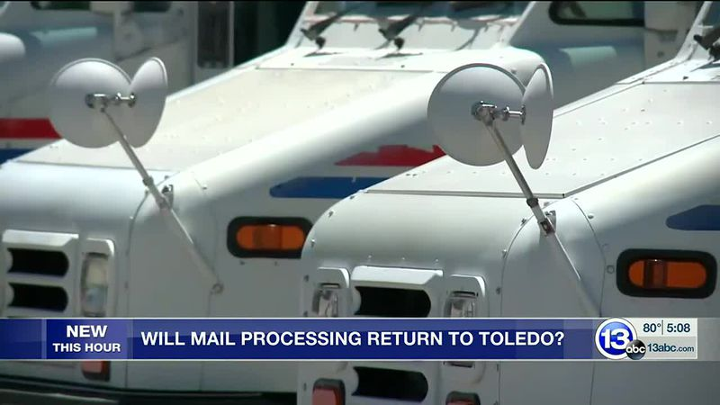New push to return USPS mail processing center to Toledo
