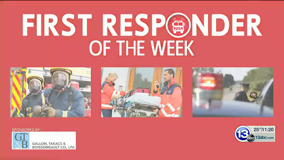 First Responder of the Week