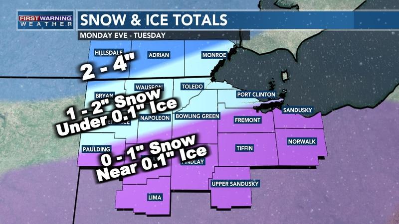 Snow & Ice Totals