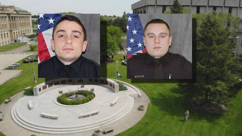 Officer Anthony Dia and Officer Brandon Stalker were shot and killed while on duty in separate...