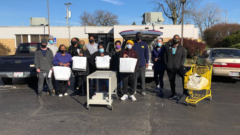 The Tabernacle and Chef Michal Gaston provided meals to seniors and people with disabilities at...