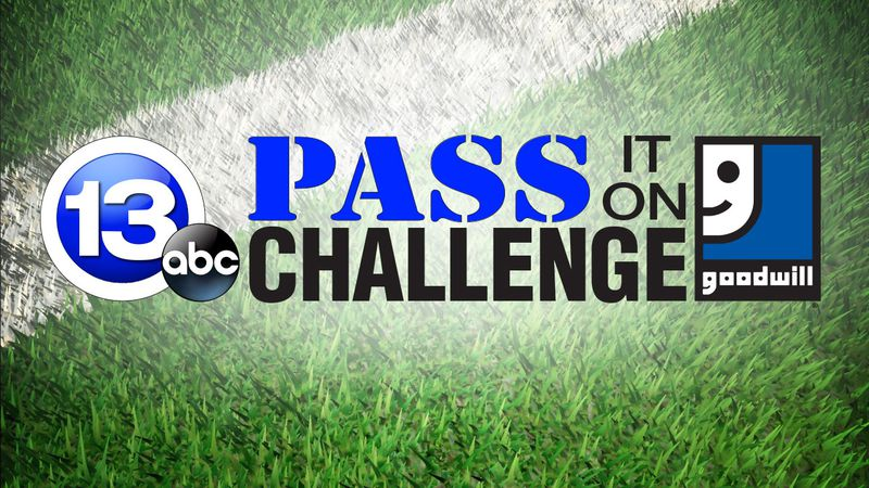 13abc and Goodwill are teaming up for the Pass It On Challenge once again!