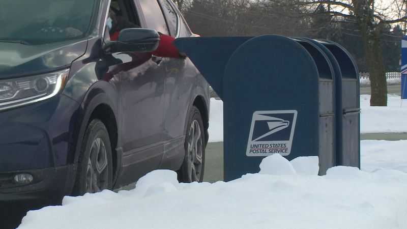 This week's snowstorm was largely to blame for delays in mail service across Northwest Ohio.